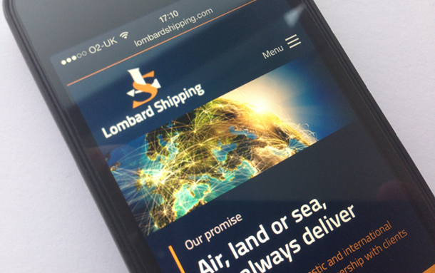 Lombard Shipping Launches New Responsive Website